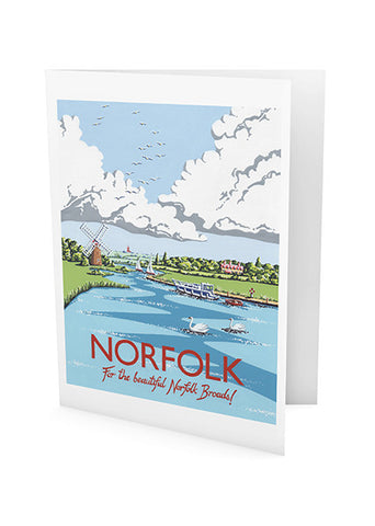 Norfolk Greeting Card