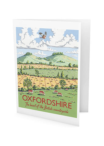 Oxfordshire Greeting Card