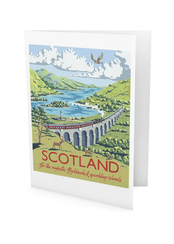 Scotland Greeting Card