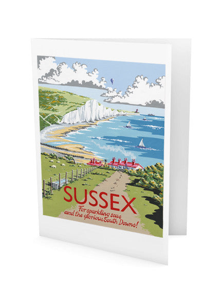 Sussex Greeting Card