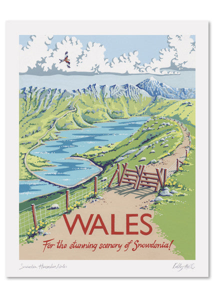 Wales Signed Print