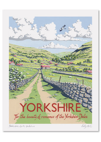 Yorkshire Signed Print