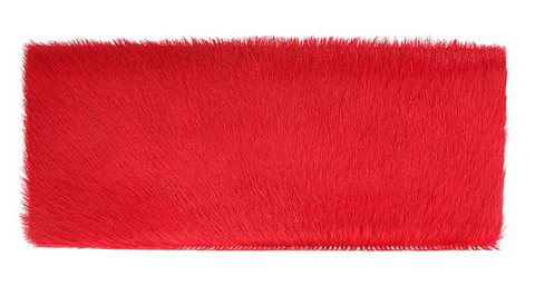 Nicole Clutch in Vermillion