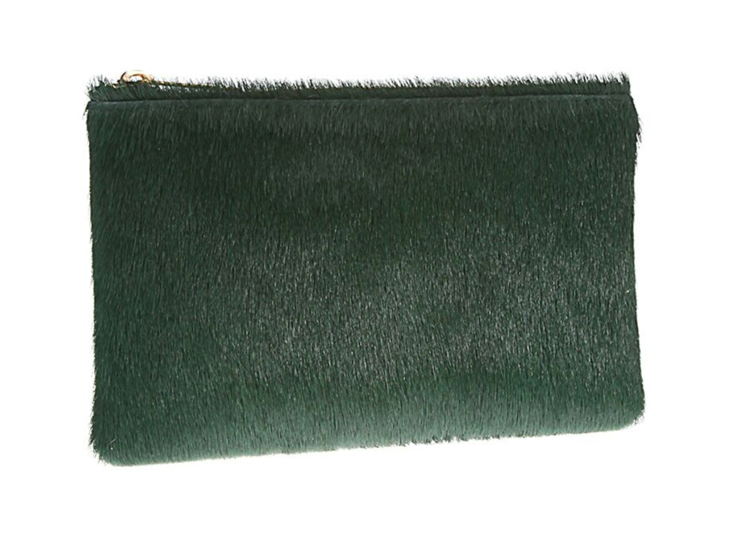 Zip Pouch in Emerald