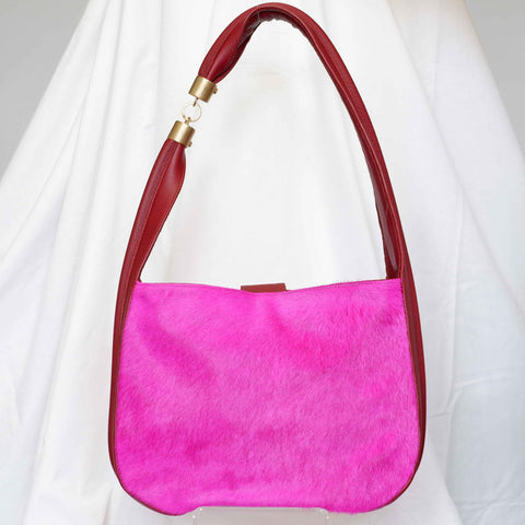 Somer Baguette in Fuchsia, Large