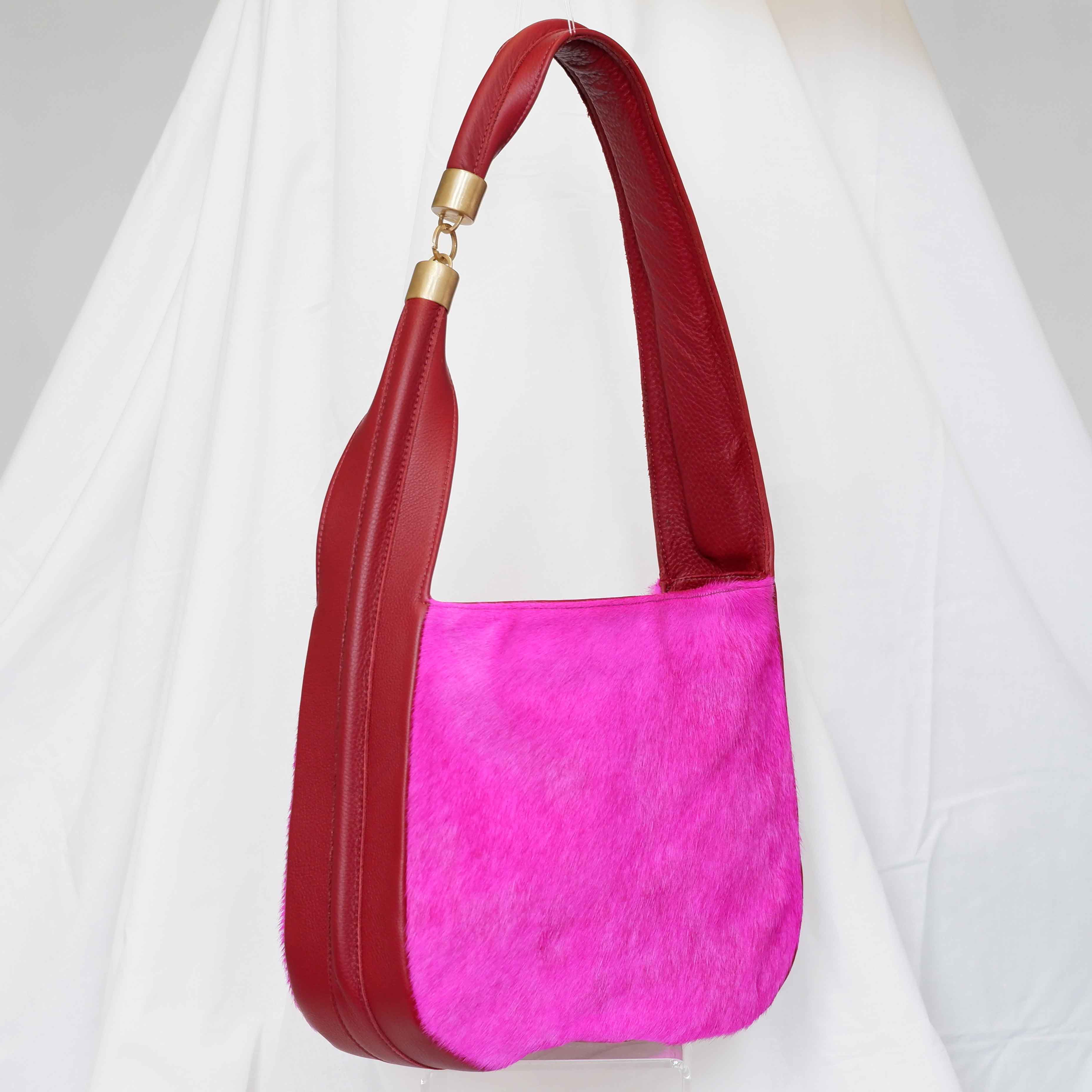 Large Somer Baguette in Fuchsia
