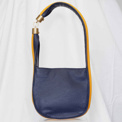 Somer Baguette in Navy, Small