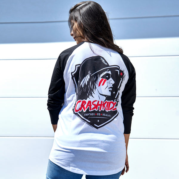 CRASHKIDS! BASEBALL SHIRT: UNISEX