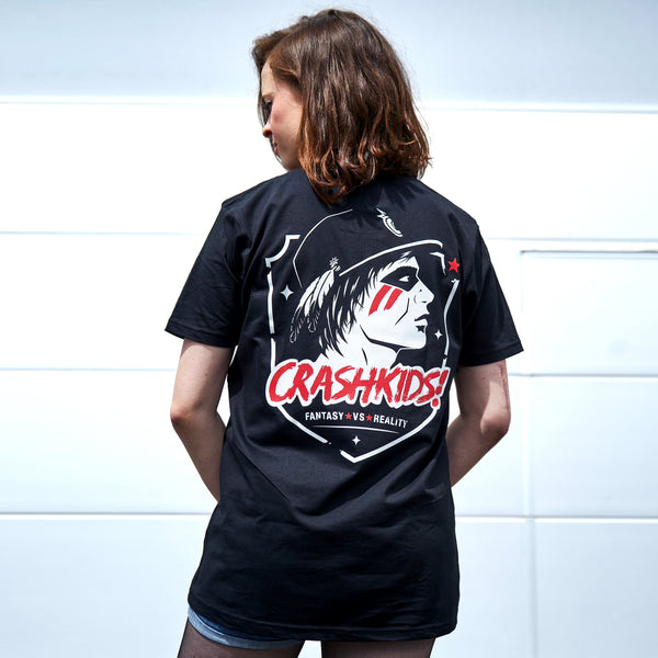 CRASHKIDS! T-Shirt: Unisex - black