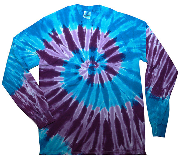Spiral Barbados Swirl Long Sleeved Tie Dye