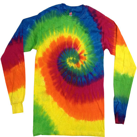 Spiral Moondance Long Sleeved Tie Dye shirt