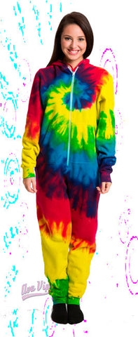 Reactive Rainbow - Adult and Youth Tie Dye Onesies or Onesie