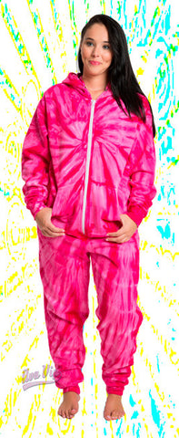 Spider Pink - Adult and Youth Tie Dye Onesies