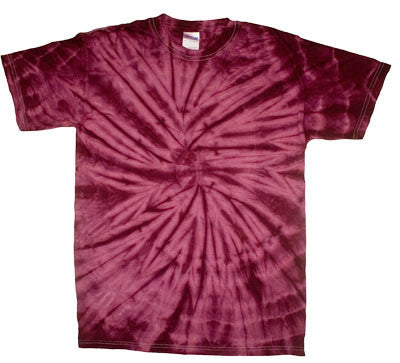 Spider Crimson Tie Dye shirt