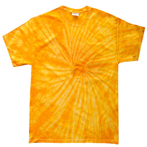 Spider Gold Tie Dye shirt