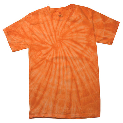 Spider Orange Tie Dye shirt