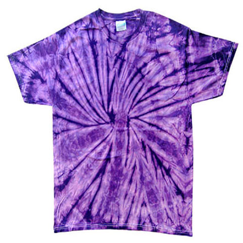Spider Purple Tie Dye