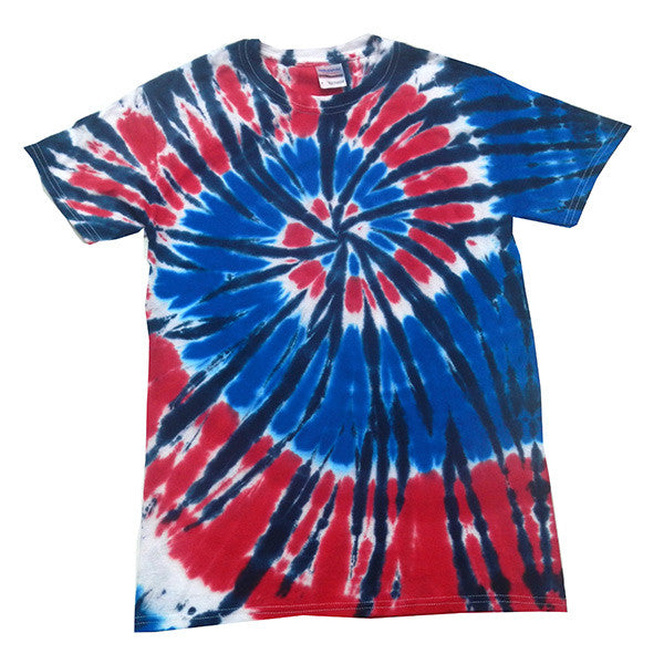 Spiral Independence Tie Dye