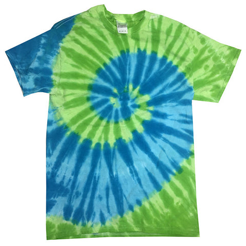 St Lucia Island Collection Tie Dye shirt