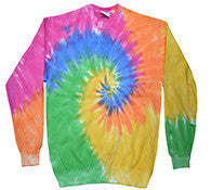 eternity tie dye sweatshirt