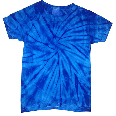 Toddler Spider Royal Tie Dye