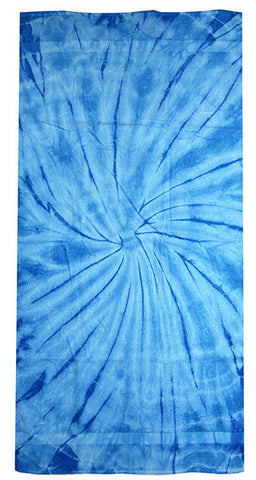Spider Baby Blue Tie Dye Towel