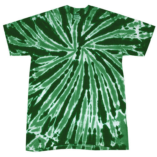Twist Dark Green Tie Dye