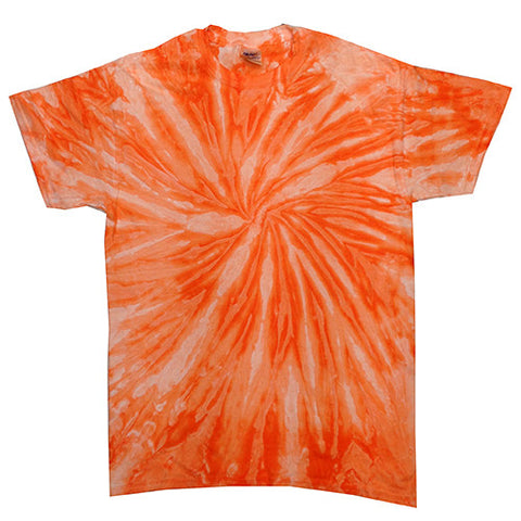 Twist Neon Orange Tie Dye