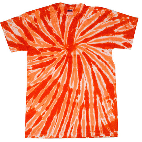 Twist Orange Tie Dye