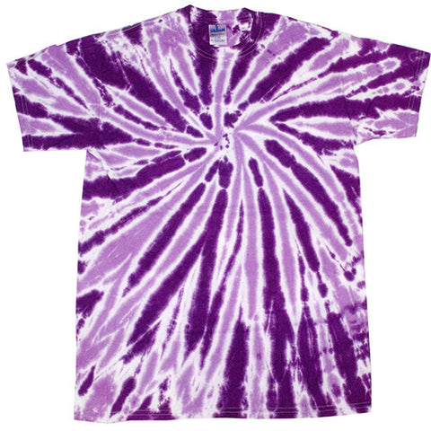 Twist Purple Tie Dye
