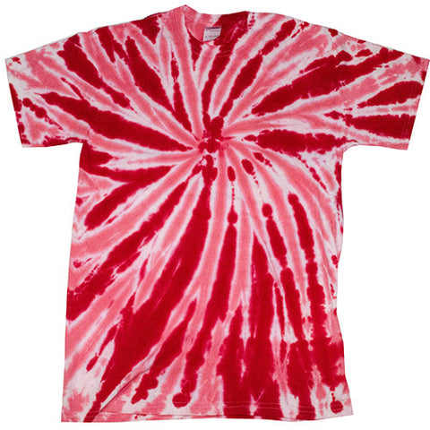 Twist Red Tie Dye