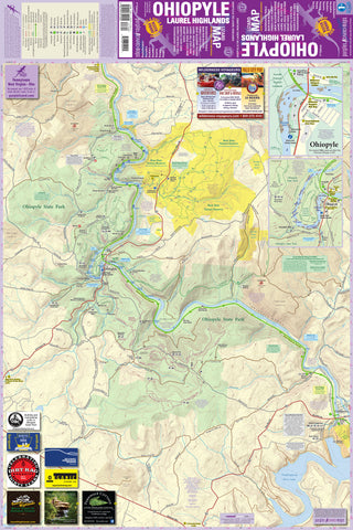 Ohiopyle-Laurel Highlands Lizard Map