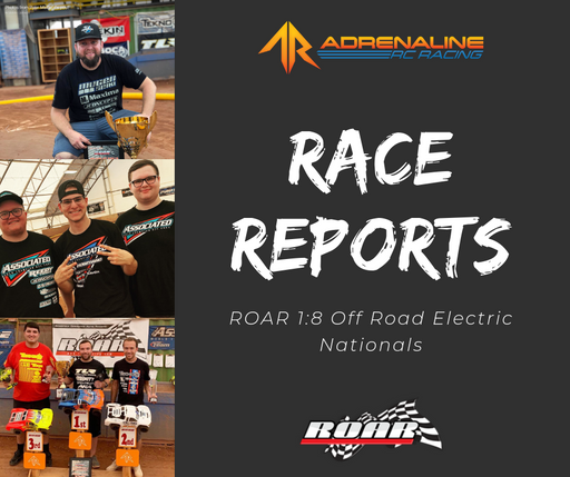 Driver Feature: E-Nats Race Reports