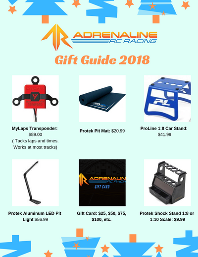 The Perfect Gift Guide for your RC Enthusiast!