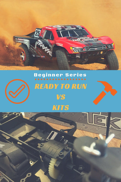 Ready to Run VS RC Car Kits (Beginner Series)