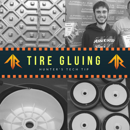 Hunter's Tech Tip: Tire Gluing Process