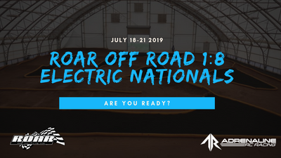 2019 ROAR 1:8 OFF ROAD ELECTRIC NATIONALS GUIDE