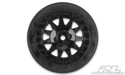 "F-11 2.2""/3.0"" Black Wheels"