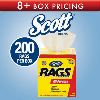 Scott Rags In a Box White 200ct