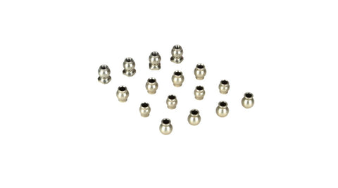 Losi Hard Anodized Pivot Ball Set (16)