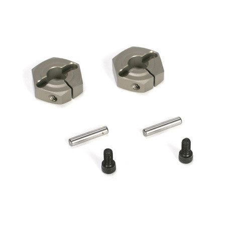 Losi Aluminum Clamping Wheel Hex Set (2) **