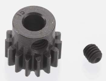 Robinson Racing Extra Hard Blackened Steel 32P Pinion Gear w/5mm Bore (15T) **