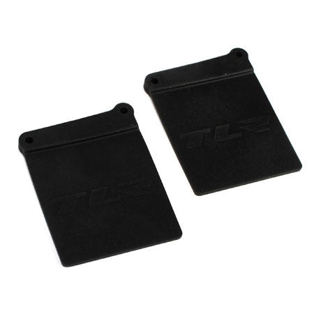 Team Losi Racing Mud Flaps (2) **