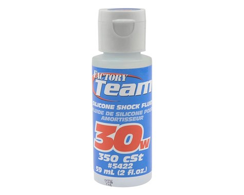 Team Associated Silicone Shock Oil (2oz) (30wt) image