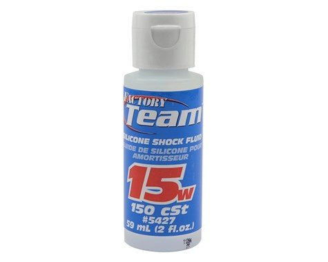Team Associated Silicone Shock Oil (2oz) (15wt) **