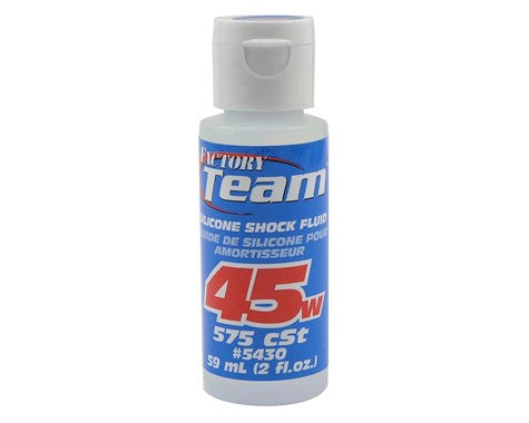 Team Associated Silicone Shock Oil (2oz) (45wt) ••