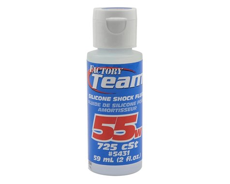 Team Associated Silicone Shock Oil (2oz) (55wt) **