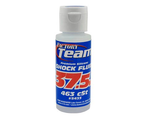 Team Associated Silicone Shock Oil (2oz) (37.5wt) **