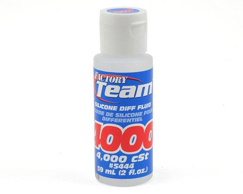 Team Associated Silicone Differential Fluid (2oz) (4,000cst) **