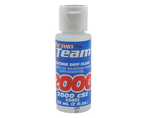 Team Associated Silicone Differential Fluid (2oz) (2,000cst) **